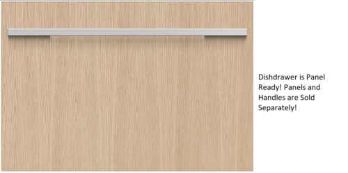 """Fisher & Paykel DD24SI7 24"""" Fully Integrated Panel Ready Single DishDrawer"""