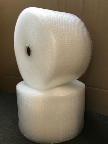 """3/16"""" Small Bubble Cushioning Wrap Padding Roll 700'x 12"""" Wide Perf 12"""" 700FT"""