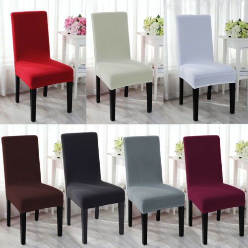Spandex Stretch Chair Cover Party Decor Dining Room Seat Cover Wedding Banquet