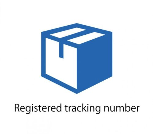 Shipping options (Registered tracking number / Upgrade shipping method)
