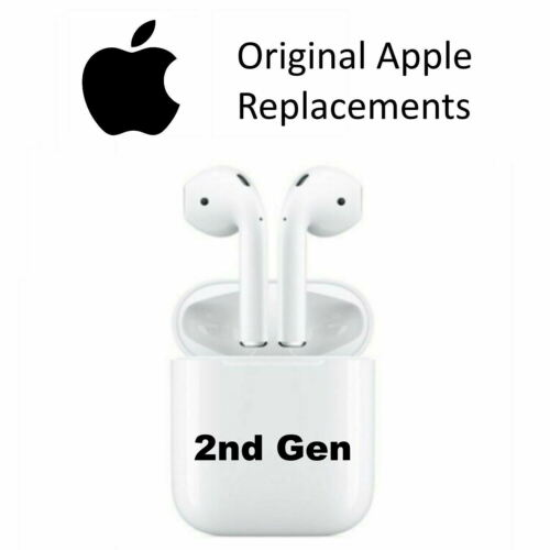 ORIGINAL Apple AirPods Replacement Left Right Both Wired Wireless Charging Case