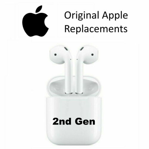 Apple AirPods 2nd GEN Replacement Left Right Both Wired Wireless Charging Case