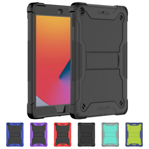 """For Apple iPad 8th 7th 6th 5th Generation 10.2"""" 9.7"""" Shockproof Hard Case Cover"""