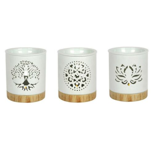 Burner Oil Tealight Candle Wax Melt Holder Ceramic Aromatherapy Home Essential