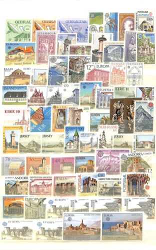 [OP2345] Europa lot of stamps very fine MNH on 12 pages