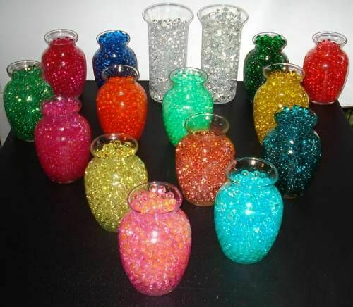 Water Beads - Vase Filler Decoration to use with Tea Lights & Floating candles