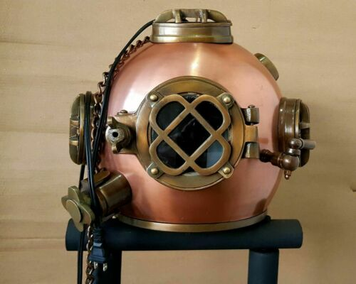 Royal Antique Lamp Diving Helmet Vintage US Navy Scuba SCA Hanging Divers Helmet