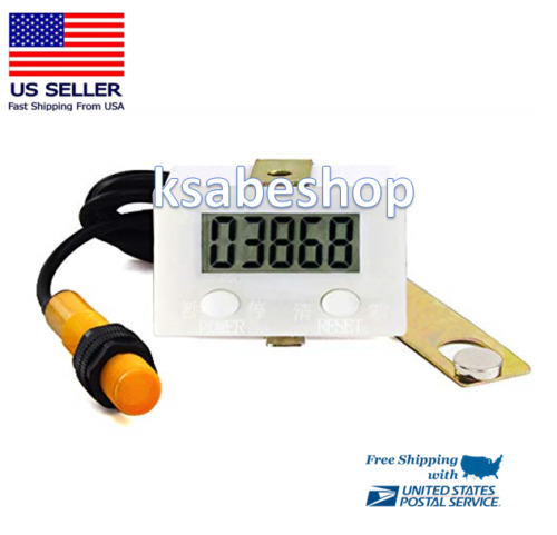 LCD Magnetic Induction Digital Rotary Industry Counter Proximity Switch Sensor