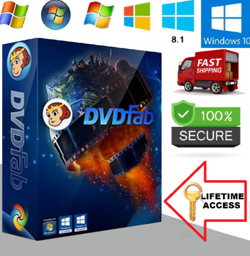 New DVDFAB 12 - All-In-One Lifetime Updates! MUST READ!
