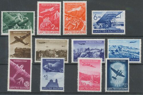 [P1053] Bulgaria 1940 airmail good set very fine MNH stamps value $42