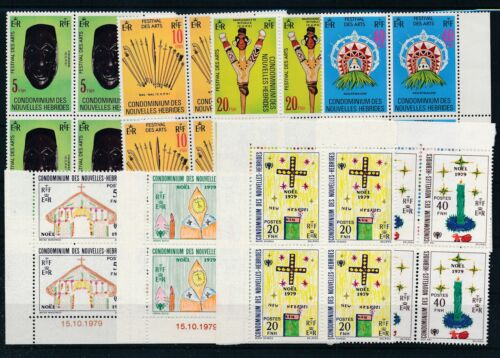 [G27931] New Hebrides Good lot very fine MNH stamps