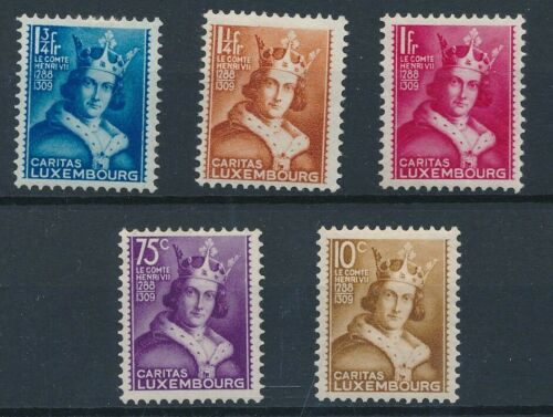 [81997] Luxembourg 1933 good set of stamps very fine MH $70
