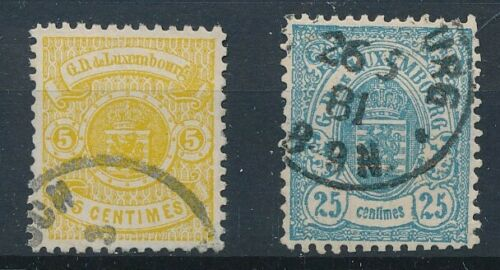 [34246] Luxembourg 1874/80 Two good stamps Very Fine used see picture