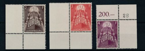 [34264] Luxembourg 1957 EUROPA CEPT Good set Very Fine MNH stamps