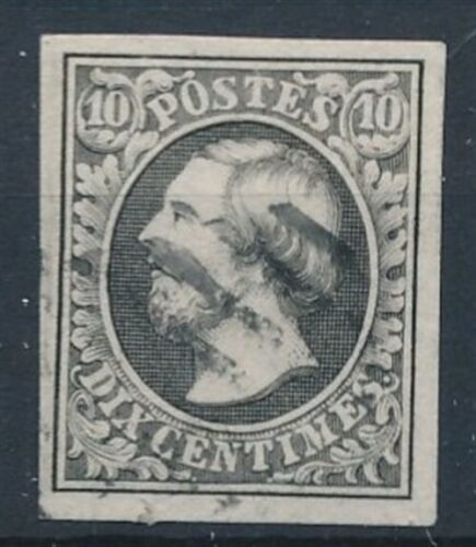 [34276] Luxembourg 1852 Good classical stamp 4 margins Very Fine used V:$100