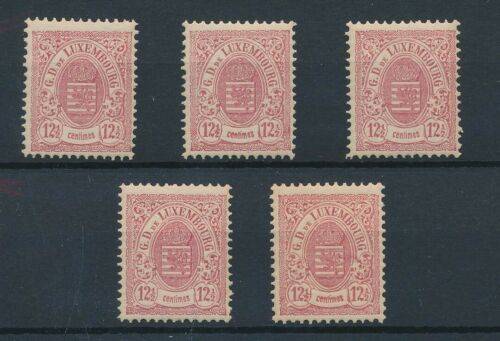 [34333] Luxemboug 1880 Good stamp 5x Very Fine MNH