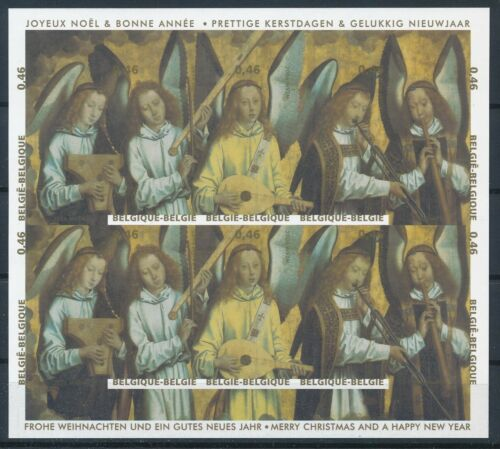 [G11062] Belgium 2006 Christmas and Music good sheet very fine imperf