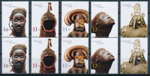 [P15348] Angola 2002 : 2x Good Set of Very Fine MNH Stamps in Pairs
