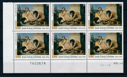 [G28026] France 2004 paintings good block of 6 stamps very fine MNH
