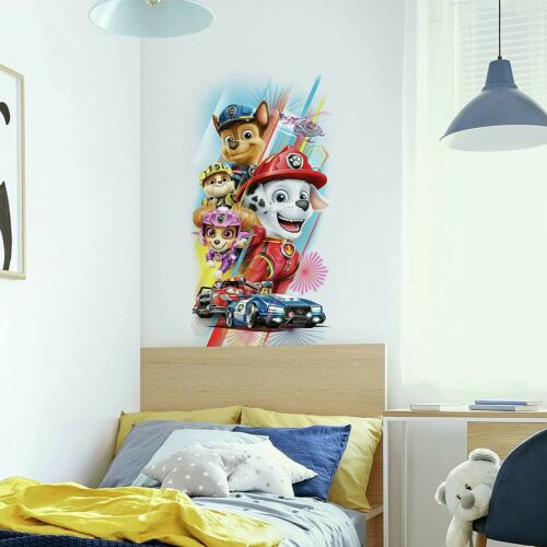 Paw Patrol Movie Peel And Stick Wall Decals Roommates Kids Room Graphic Stickers