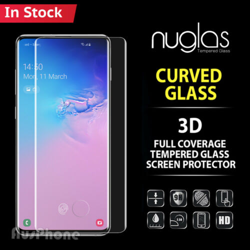 Galaxy S20 S10 S9 Plus Note 20 10 9 Tempered Glass Screen Protector For Samsung