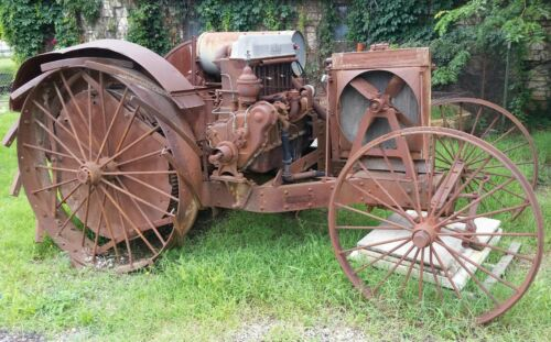 Antique Super Four Huber Tractor