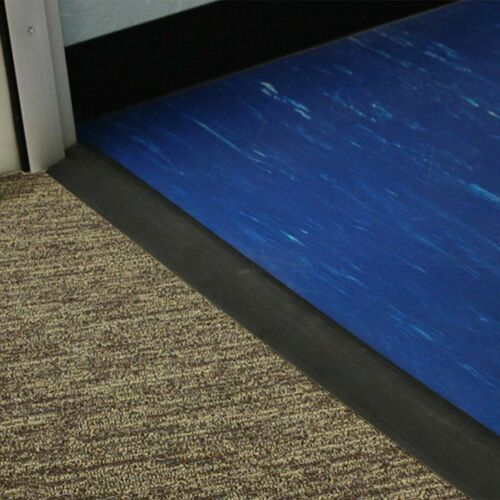 Rubber Floor Transition Ramps - Reducer Strip