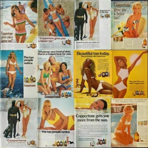 Vintage Coppertone Print Ad / Ads - Your Choice - One Flat Shipping Charge