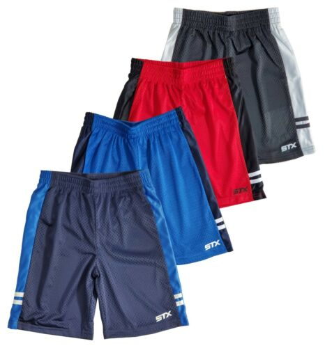 Shorts Boys Athletic Regular Fit Active Mesh 4 Pack Lot Size 8 10/12 14/16 Navy