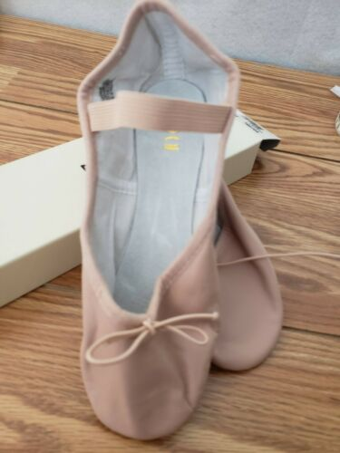 BLOCH Ladies Sizes Pink Leather Full Sole Ballet Slippers 205L C width New Shoes