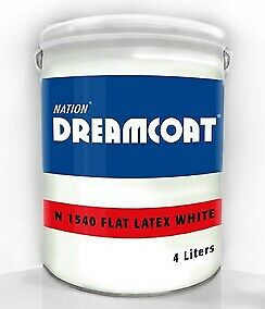 Nation® Dreamcoat™ Flat Latex Paint (4 Liters)