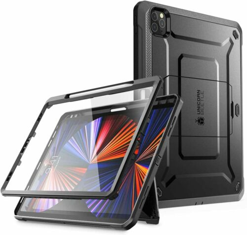 """SUPCASE for Apple iPad Pro 12.9"""" 2021 2020 Case Screen Cover Support PenCharging"""