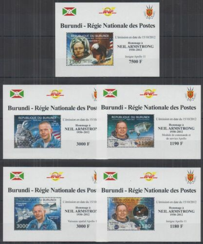 B459. Burundi - MNH - Space - Neil Armstrong - Deluxe