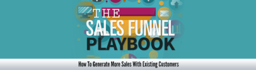 Sales Funnel Playbook- How To Generate More Sales- 17 Videos on CD
