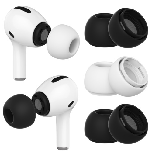 For Apple Airpods Pro NEW 3 Model Ear Tips + Hooks Replacement Accessories Cover