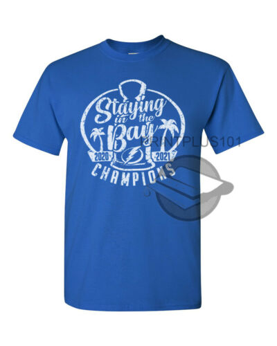 2021 Stanley Cup Back To Back Champions Tampa Bay Lightning Shirt Various Colors