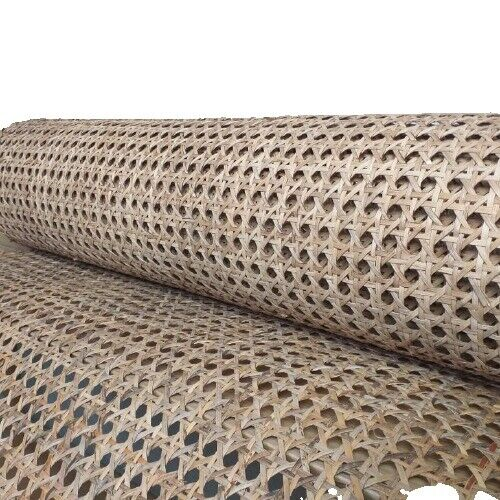 """35"""" Wide, Hexagon Rattan Webbing for Caning Chair, DIY Interior Project"""
