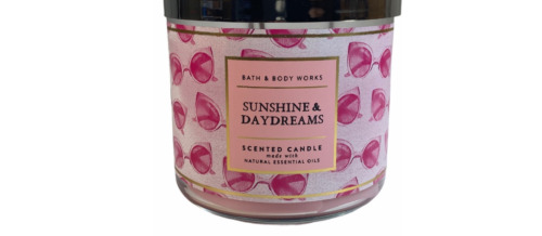 Bath and Body Works Sunshine & Daydreams 3 Wick Candle New