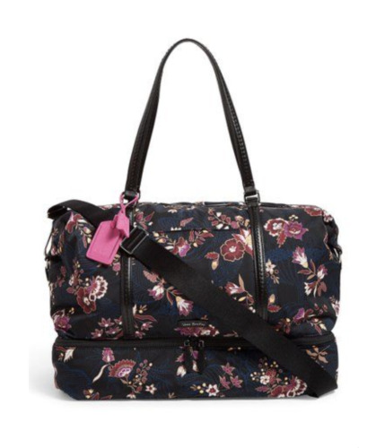 Vera Bradley Midtown Travel Bag in Garden Dreams Extra Large New with Tags $180