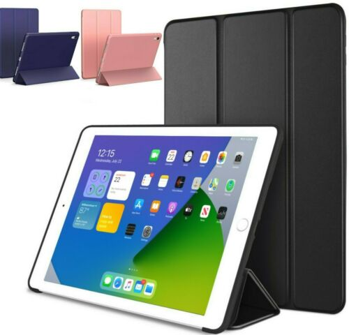 iPad Smart Case Cover Stand Magnetic Slim Silicone For Apple 2 3 4 5 6 7 8 Gen