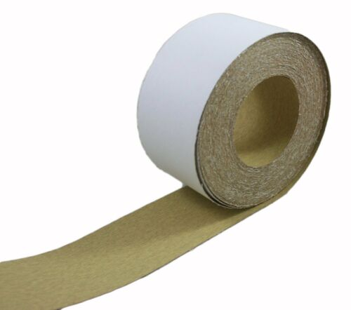 """ABN Adhesive Sandpaper Roll 2-3/4"""" Inch x 20 Yards Aluminum Oxide PSA"""