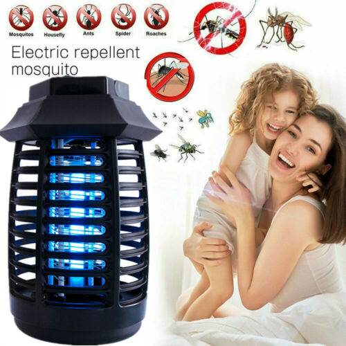 LED Electric UV Mosquito Killer Lamp Fly Bug Insect Repellent Zapper Trap 2020