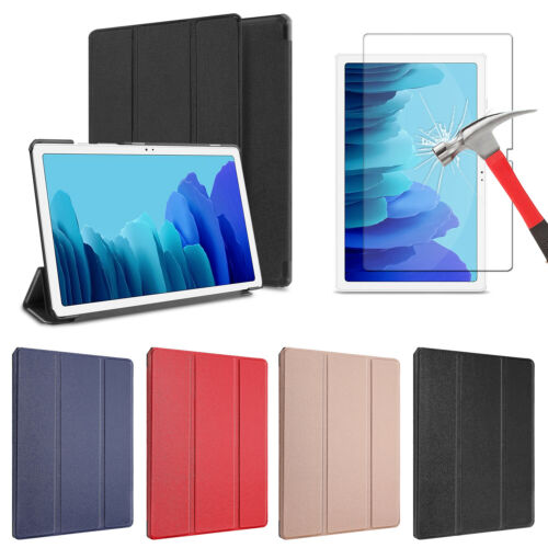 For Samsung Galaxy Tab A7 10.4'' 2020 Tablet Case Stand Cover, Screen Protector