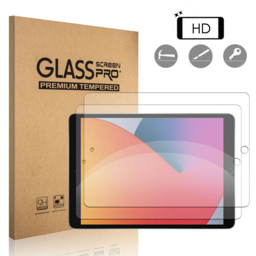 For iPad 10.2 inch 8th Generation, Air 4th Gen HD Tempered Glass Screen Protector