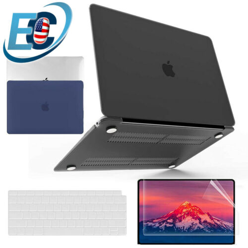 For MacBook Air 13 M1 A2337 A2179 Rubberized Hard Case Keyboard Screen Protector