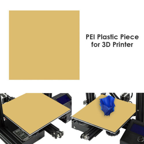 PEI Sheet 305/254/235/157/150/120mm for 3D Printer Build Surface with Tape US