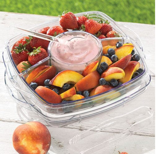 Pampered Chef: SMALL SQUARE COOL & SERVE Free Shipping