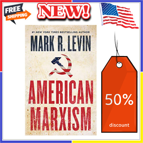 American Marxism by Mark R. Levin Hardcover July 13, 2021 New Free Shipping