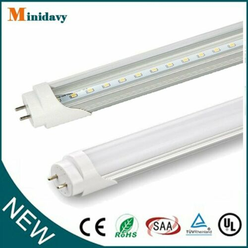 10-100PACK T8 4FT G13 LED SHOP LIGHT Bulbs 18W 6500K LED FLUORESCENT REPLACEMENT