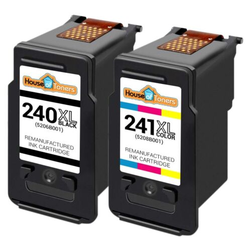Replacement PG240XL CL241XL Ink Cartridges for Canon PIXMA Printers